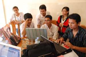 KDNK members in Phnom Penh, Cambodia