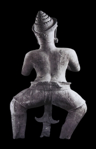Statue of Phima (?) from Mahabharata Story (Style of Koh Ker, 10th century)