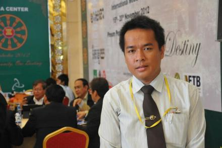 Dr. CHEN Chanratana, Founder/President of Kerdomnel Khmer Foundation.