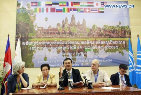 CAMBODIA-PHNOM PENH-WORLD HERITAGE COMMITTEE